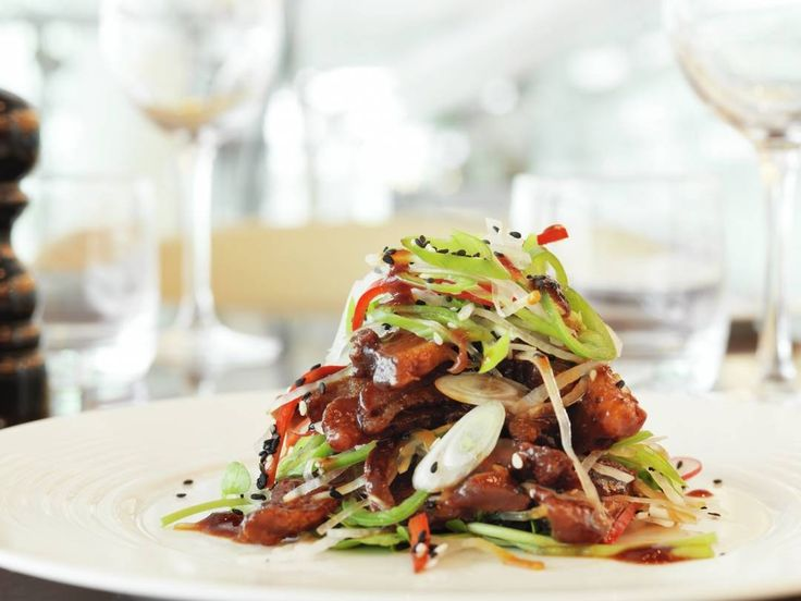 asian crispy duck salad recipe