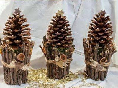 Pine sticls