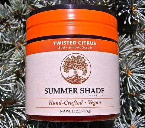 Twisted Citrus Body and Foot Scrub