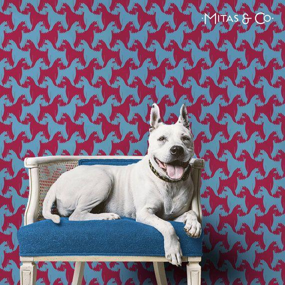 Mejores 20 imgenes de dog wash en pinterest animales lindos houndstooth dog wallpaper blue red solutioingenieria Images