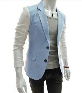 model blazer pria terbaru kombinasi warna