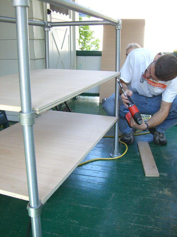 Davewirth Blogspo A Wood Made Storage Shelf In Your