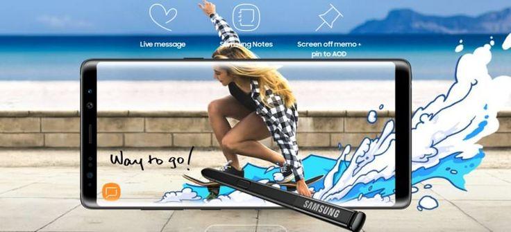 DisplayMate: η υπέροχη οθόνη του Galaxy Note 8 - https://secnews.gr/?p=160440 - Το Galaxy Note 8 φέρεται να έχει δημιουργήσει ένα νέο ρεκόρ στη φωτεινότητα της οθόνης σε smartphones, σύμφωνα με την εταιρεία δοκιμών DisplayMate.  Η νέα οθόνη 6.3 ιντσών Quad HD+Super AMOLED Infinity Display είναι μία από τις ξεχωριστές οθόνες �