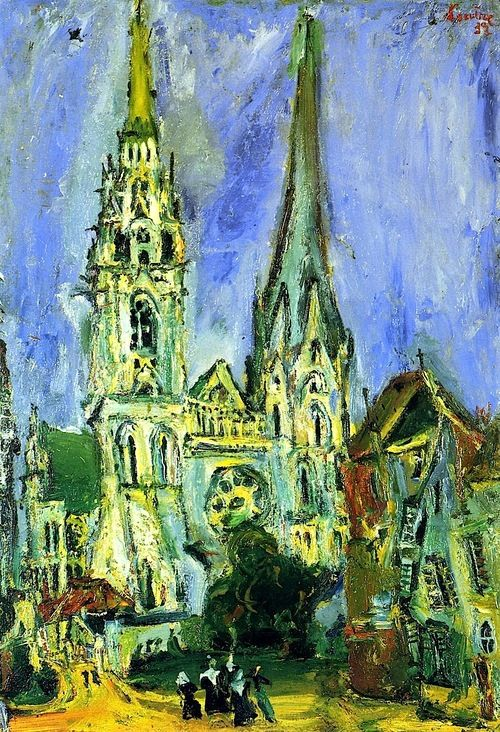 Chartres Cathedral Chaim Soutine - 1933