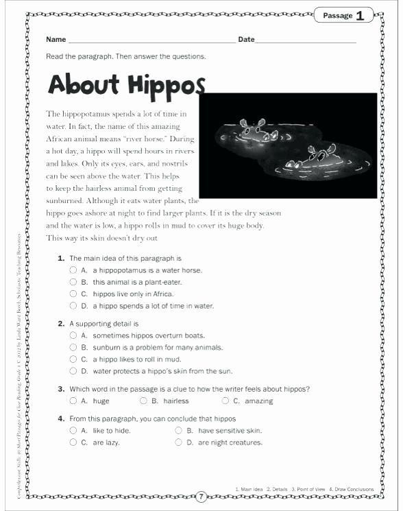 Http Proworksheet Com Main Idea And Supporting Details Worksheets Reading Passages Worksheets Free Reading Worksheets