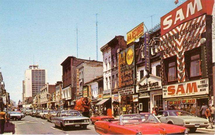 Yonge Street Circa 1960 S In 2019 Yonge Street Toronto