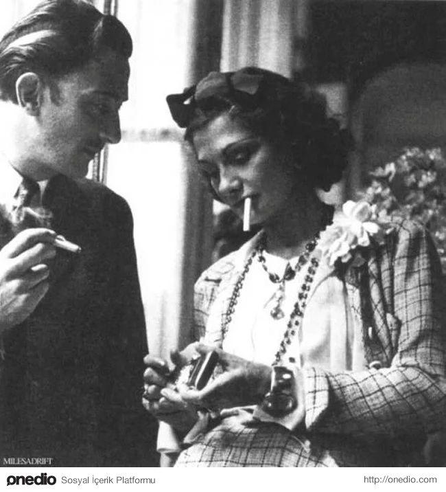 Salvador Dali ve Coco Chanel