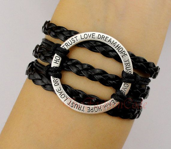 Ring Ring Bracelet Love Dream Hope Trust Gift by TheFashionCode, $4.99