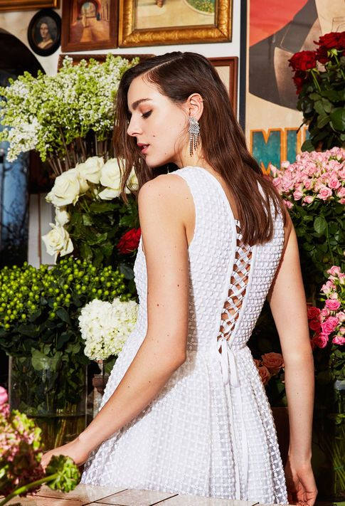 Gorgeous white dress from Claudie Pierlot