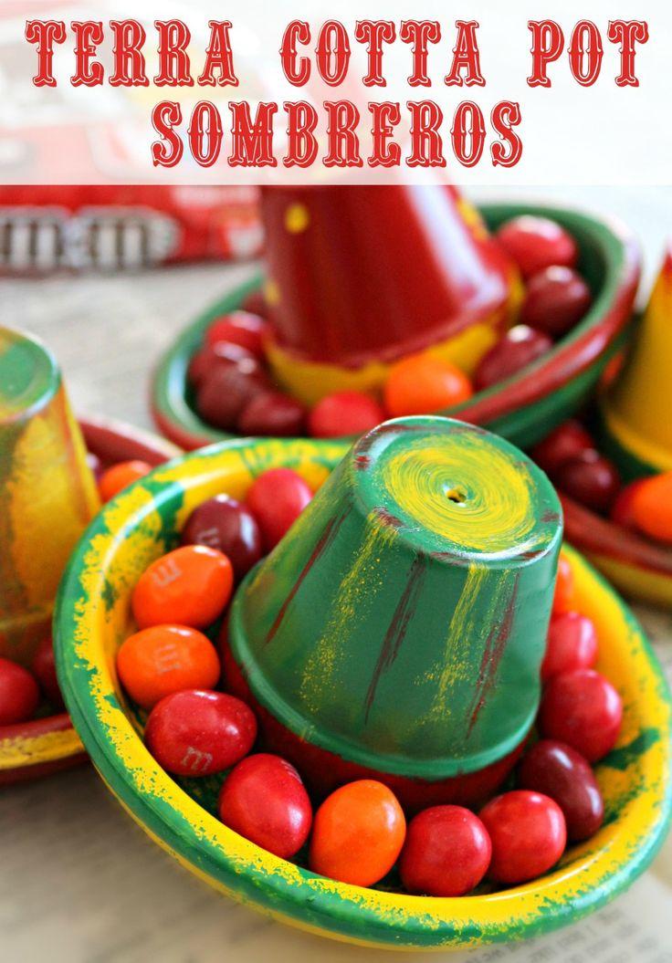 Diy terra cotta pot sombreros crafts walmart and easy diy