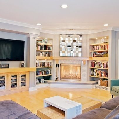 16 best CORNER FIREPLACES images on Pinterest | Fireplace design ...