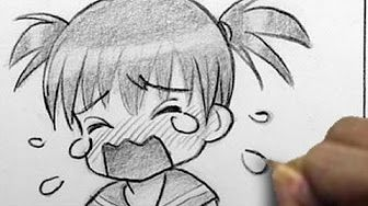 How to Draw a Chibi Kiss On the Cheek - YouTube