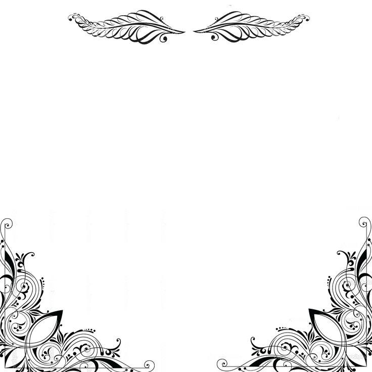 Decorative caligraphic corner 3