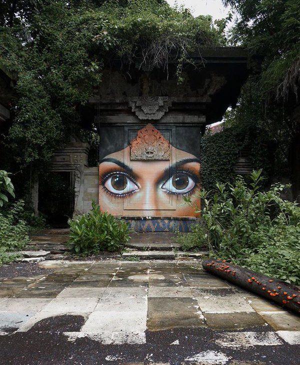 """""""The lost world"""" Nuovo pezzo della street artist Voyder"""