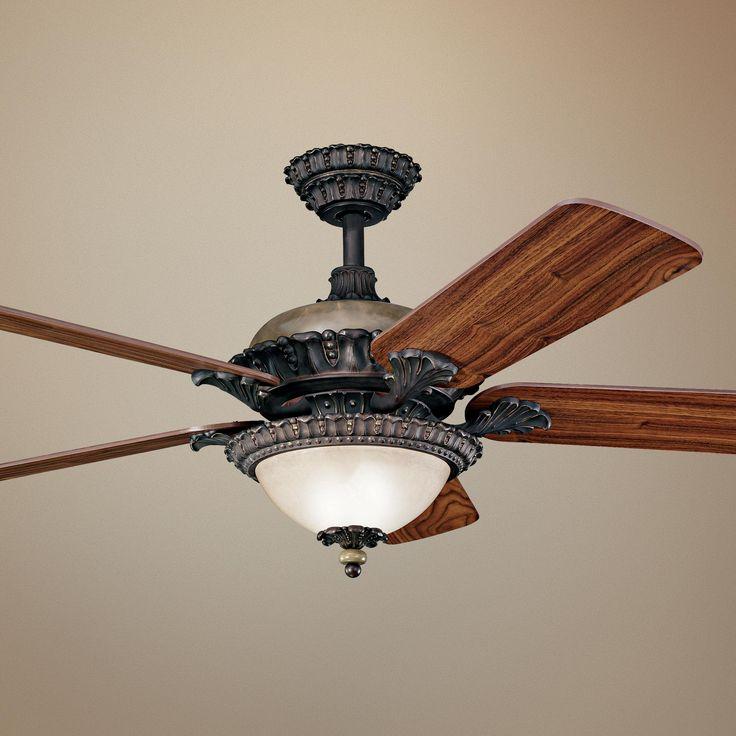 52 Quot Kichler Roxton Colton Bronze Ceiling Fan Lampsplus