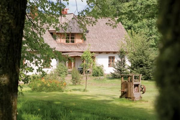 Bucolic Polish country house in Mazury