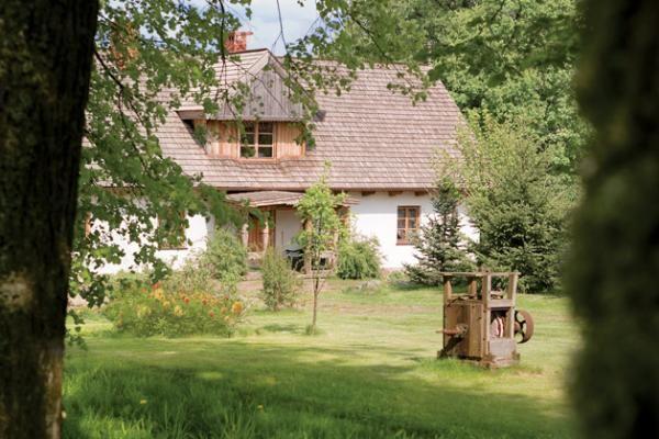 Bucolic Polish country house in Mazury