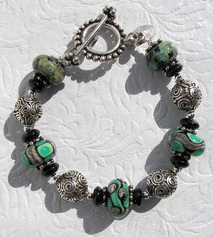 Hard on your jewelry? Here's how to make a strong beaded bracelet.