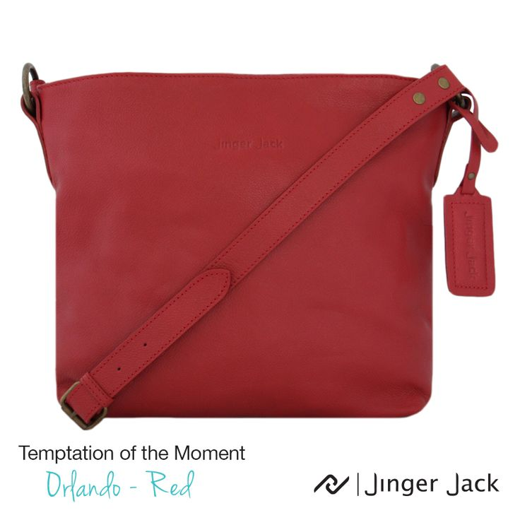 Temptation of the Moment. Jinger Jack ORLANDO in Red! http://jingerjack.co.za/products-page/orlando/