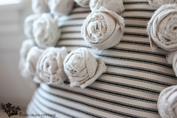 How To Make Fabric Rosette's
