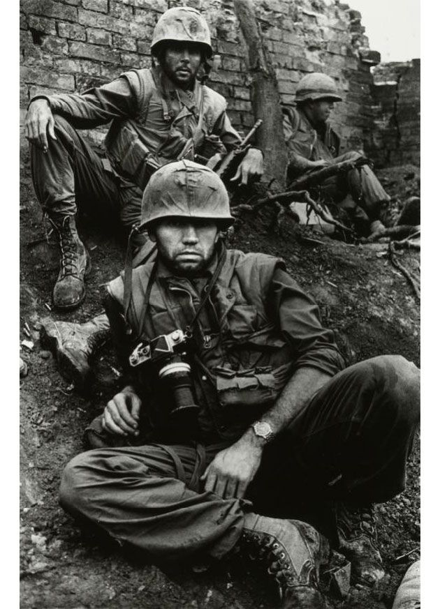don mccullin  This is more Historical photography, but oh well...