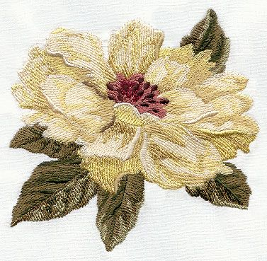 Peonies design (S2290) from www.Emblibrary.com