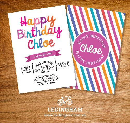 20 best 21st birthday party images – Personalised 21st Birthday Invitations