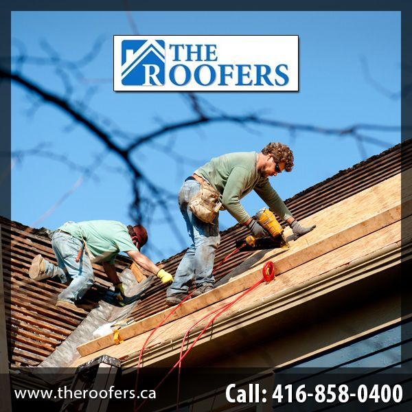 The roofers provide  roofing services to the client.             Visit to our website http://www.theroofers.ca  or call us on 416-858-0400 for your roofing problems and let us take care of them.