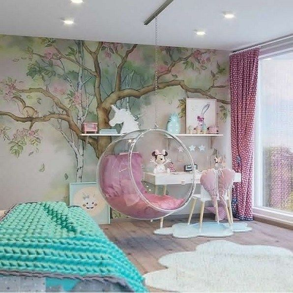 17 Girl Bedroom Decorating Ideas That She Will Love Teensbedroom Bedroomdecorating Teensbedroomdecorating Lmolnar Kids Bedroom Decor Cool Kids Bedrooms Girls Bedroom Modern New bedroom design for girls
