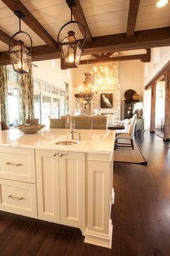 Texas Southern Living Showcase Home - traditional - kitchen - austin - Geschke Group Architecture