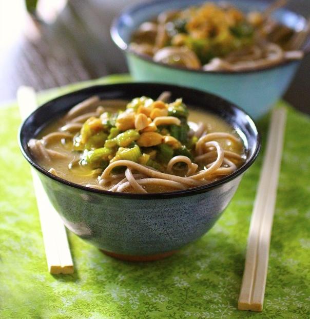 Soba noodles, Noodles and Mushrooms on Pinterest