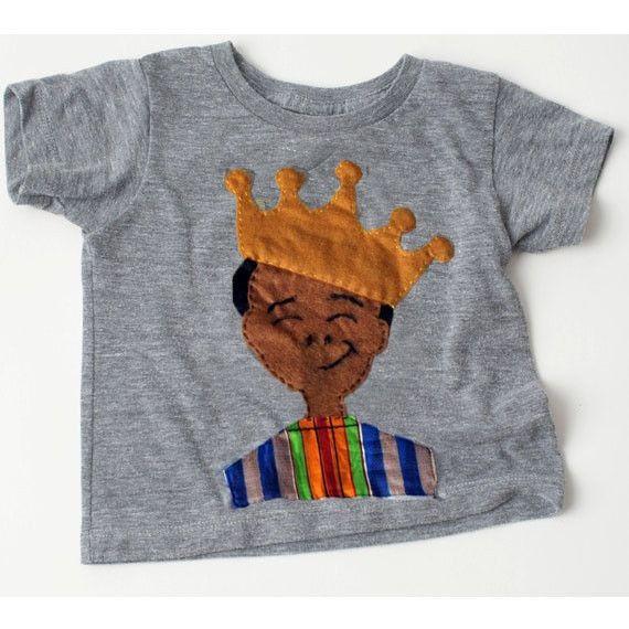 KIDS: 'Nana is King' T-shirt