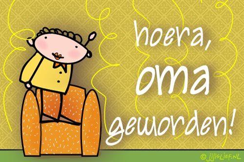 """Gratis e-card: """"Oma+geworden"""""""