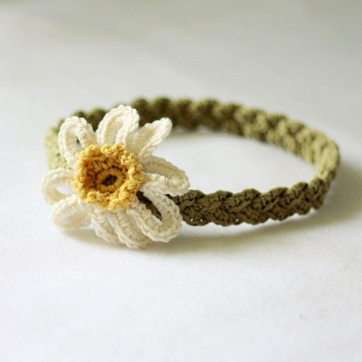 Mejores 22 imágenes de crochet headband en Pinterest | Punto de ...