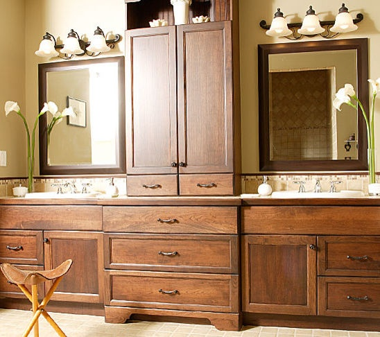 Nice Double Vanity Hall Bathroom Pinterest Double
