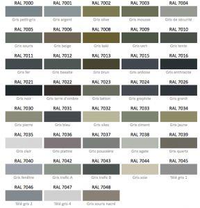 25 best ideas about ral peinture on pinterest couleurs - Nuance de gris peinture ...