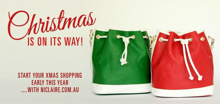 Christmas is almost here! SHOP the perfect xmas gifts at niclaire.com.au #niclaire #fashion #handbags #leatherhandbag #christmasgiftideas #christmasgift #shoponline #genuineleather