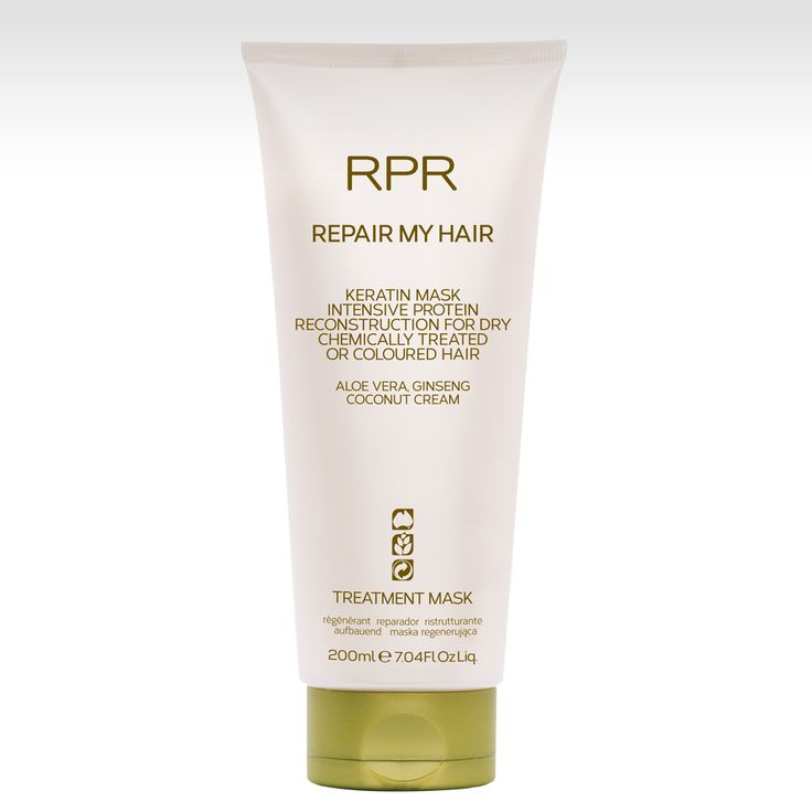 RPR Repair My Hair Mask. Intense protein reconstruction for dry, chemically treated or coloured hair. Aloe vera, Ginseng & Coconut Cream. www.rprhaircare.com.au