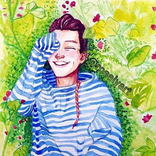 This is one adorable fanart of Harry Styles. Regramming from : @harrystylesville http://ift.tt/2gvOXxT