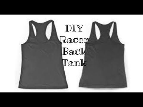 This tank top is so easy to make and it turns out as a super cute summer tank…