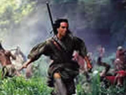 Last of the Mohicans. Great book! Great sound track! Good movie.  Great for concentration... not too slow, not too fast