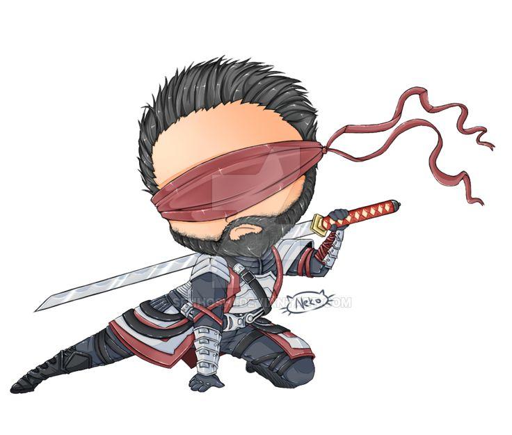 Chibi Kenshi from Mortal Kombat X by Senhoshi