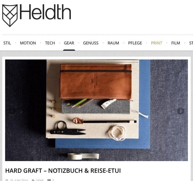 Filz, Leder und eine ordentliche Portion Liebe zum Detail schmücken die beiden analogen Gadgets...