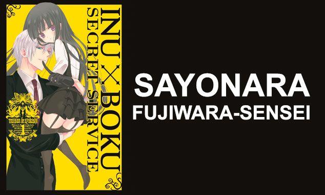 SAYONARA FUJIWARA-SENSEI