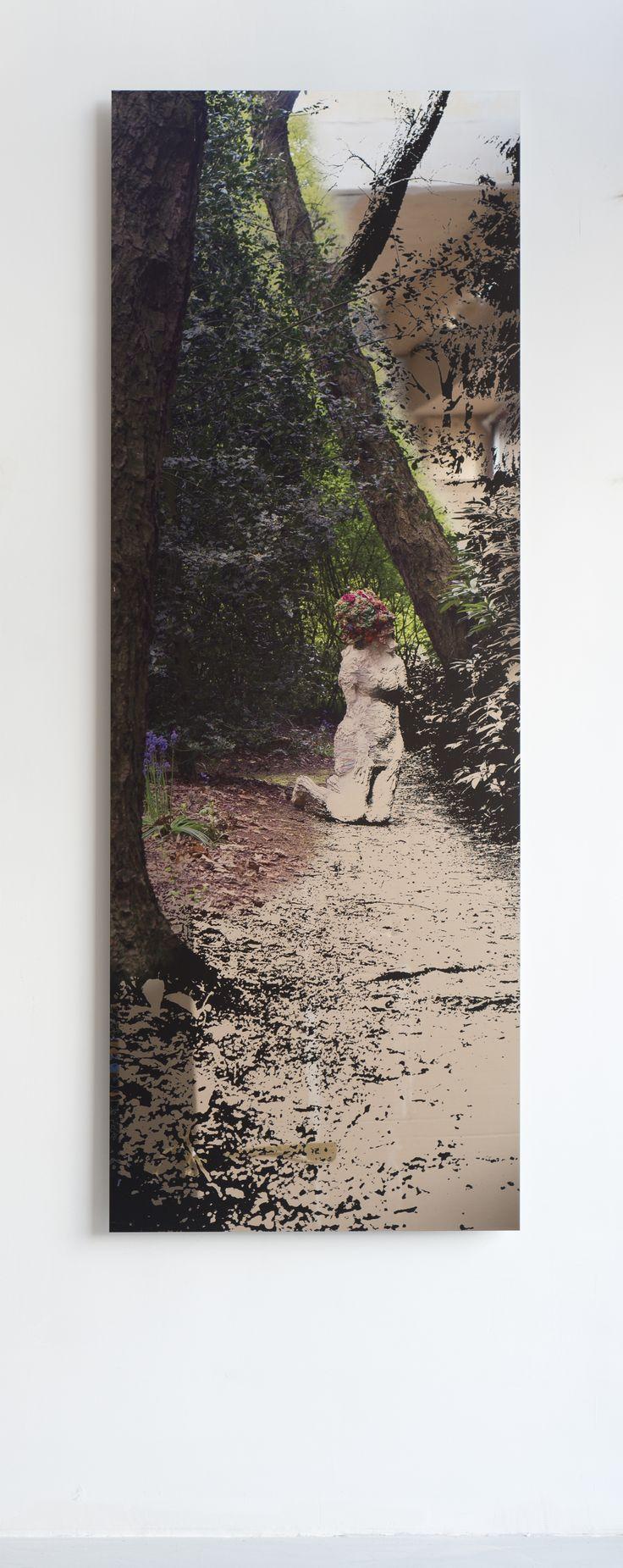Blow-Up, Marieke Bolhuis print on mirror plate 2017