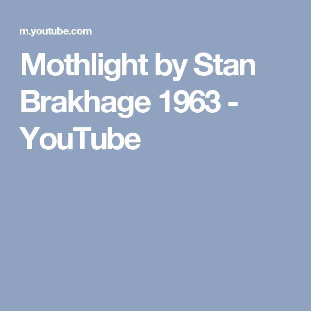 Mothlight by Stan Brakhage 1963 - YouTube