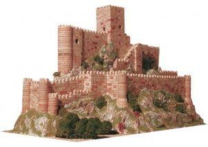 Castello di Almansa scala 1:350