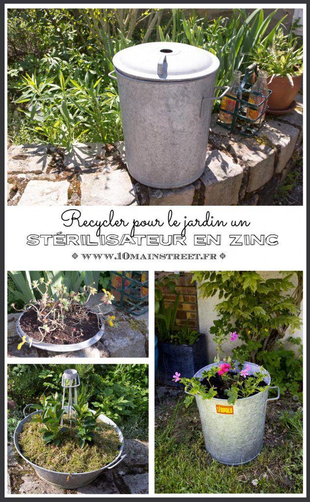 Recycler entièrement un stérilisateur en zinc pour le jardin ...