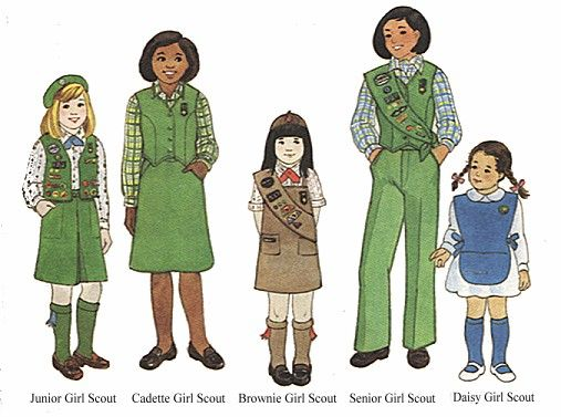 Girl Scout Uniforms Pre-1986 | However, my Senior Scout uniform was a skirt, as we were not allowed to wear pants to school. st