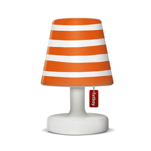 Edison The Petit Table Lamp with Mr Orange Lampshade Cover